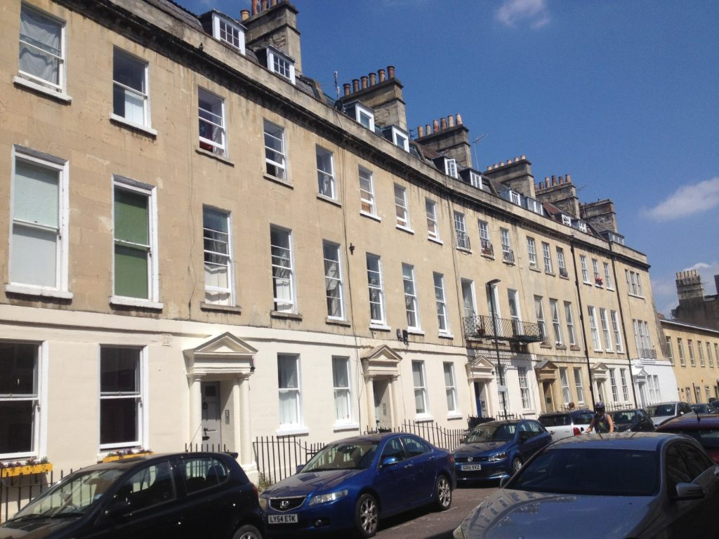 First Floor Apartment 47 New King Street, Central Bath. BA1 2BN