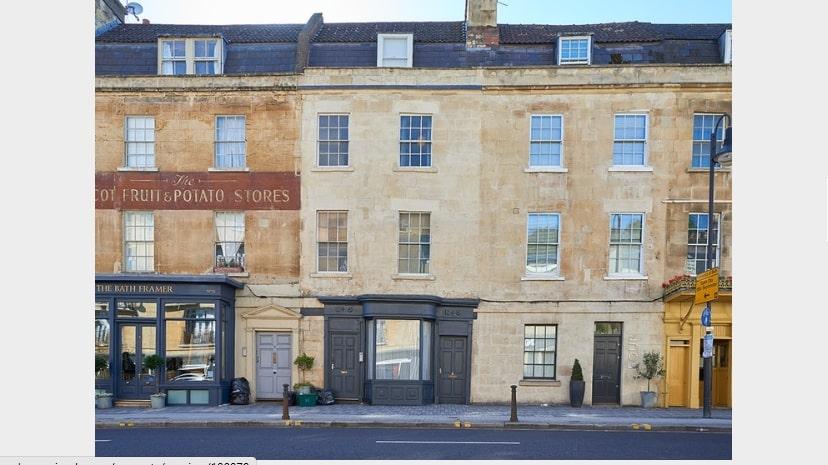 Ground Floor Shop, 5 Walcot Buildings, Bath. BA1 6AD